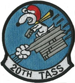 20th Tactical Air Support Patch