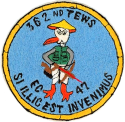 362nd Tactical Electronic Warfare Squadron Patch