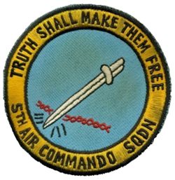 5th Air Commado Squadron Patch