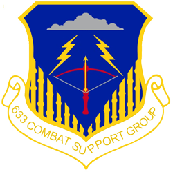 633rd Combat Support Group Patch