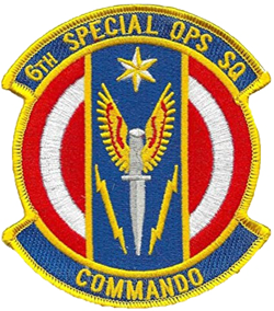 6th Air Commando, Special Operations Squadron Patch