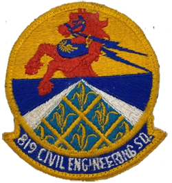 819th Civil Engineering Red Horse Patch